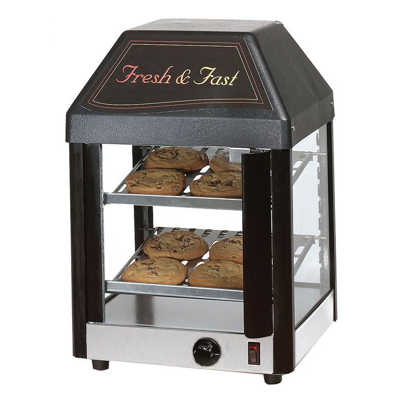 Star 12MCPT Display Merchandiser, Heated, 12-in,  12-Cookies/14- Burritos