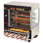 Star 175CBA Hot Dog Broiler w/ Bun Warmer, Cradle Type, 36-Dog/ 32-Bun