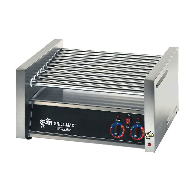 Star 20C 20 Hot Dog Roller Grill - Slanted Top, 120v