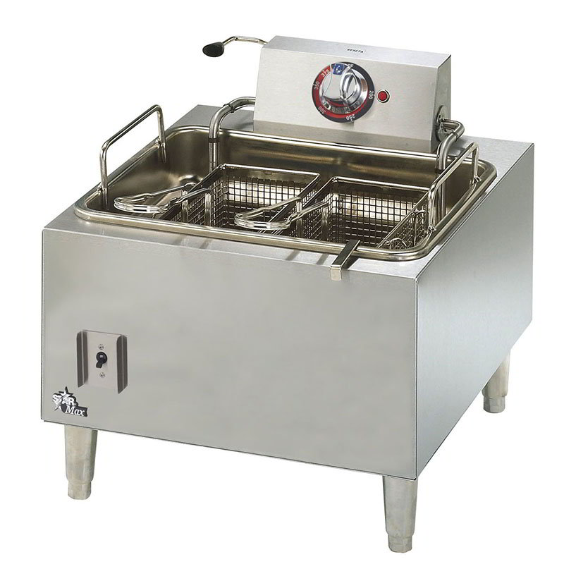 Star 301HLF Countertop Electric Fryer - (1) 15-lb Vat, 208v/1ph