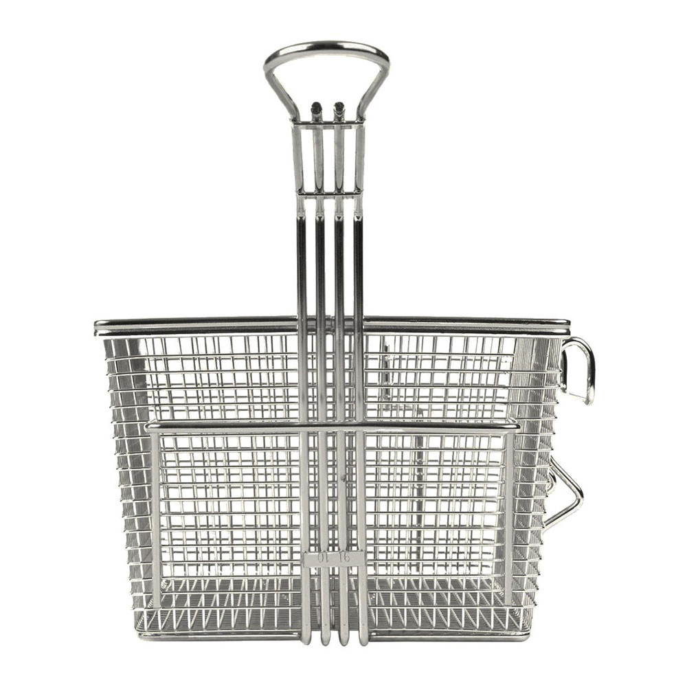 Star 301TBR Half Size Fryer Basket, Steel