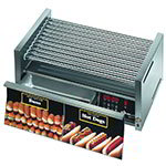 Star 30CBD 30 Hot Dog Roller Grill w/Bun Storage - Slanted Top, 120v