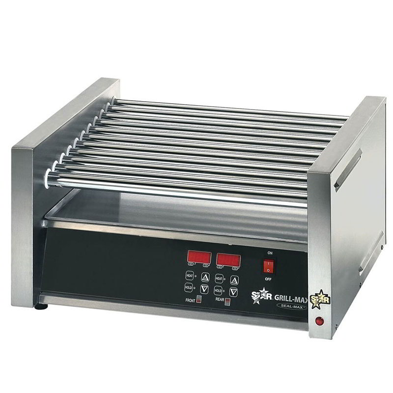 Star 30CE 30 Hot Dog Roller Grill - Slanted Top, 120v