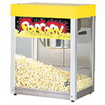 Star 39A Popcorn Popper, 6 oz Kettle, (135) 1oz Servings, Yellow