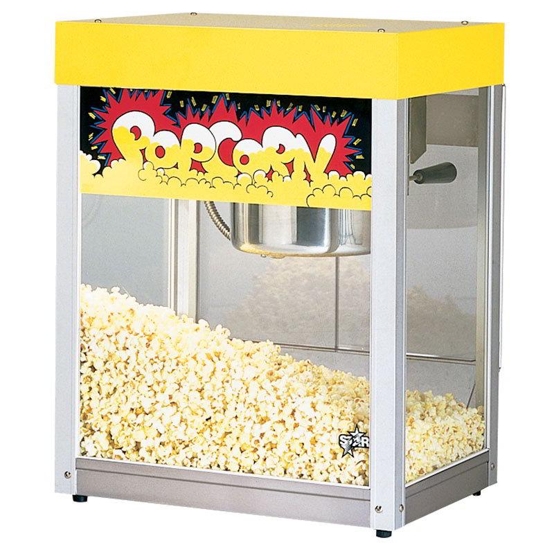 Star 39A Popcorn Popper, 6 oz Kettle, (135) 1oz Servings, Yellow