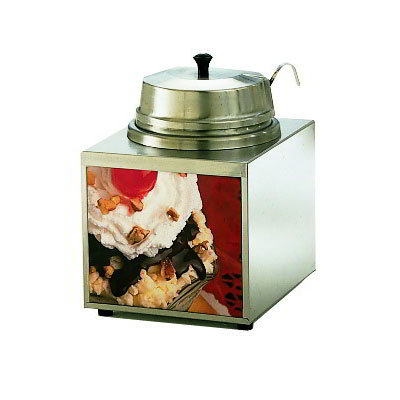 Star 3WLA-W Lighted Food Warmer w/ 1-oz Ladle, 3.5-qt, Stainless