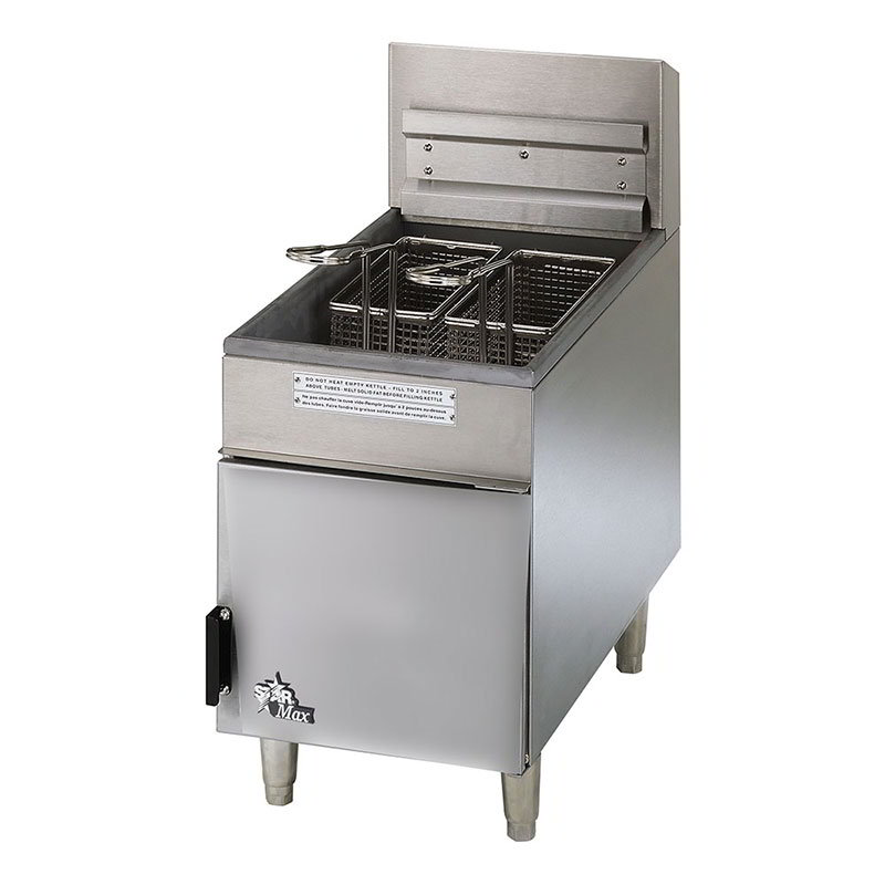 Star 404F Countertop Gas Fryer - (1) 18-lb Vat, LP