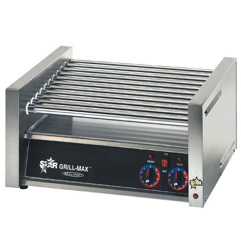 star 45c 45 hot dog roller grill slanted top 120v. Black Bedroom Furniture Sets. Home Design Ideas