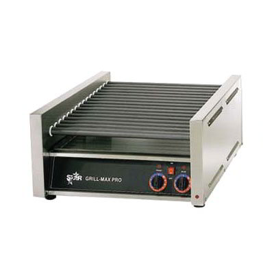 Star 45SC 45 Hot Dog Roller Grill - Slanted Top, 120v