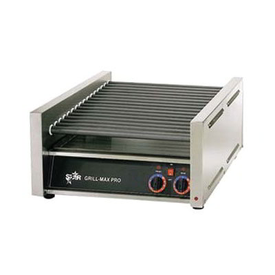 Star 50C CSA-120 50 Hot Dog Roller Grill - Slanted Top, 120v, CSA