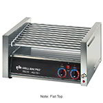 Star Manufacturing 50CF CSA-230 Flat Hot Dog Grill w/ Chrome Rollers, 50-Franks, Export, CSA 50CF CSA-230