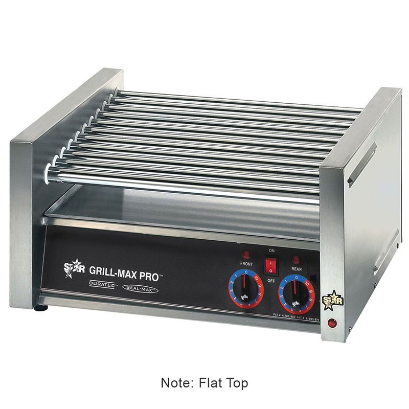 Star 50CF CSA-120 50 Hot Dog Roller Grill - Flat Top, 120v, CSA