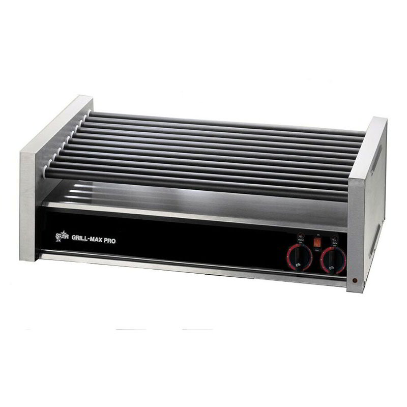 Star 50SC 50 Hot Dog Roller Grill - Slanted Top, 120v