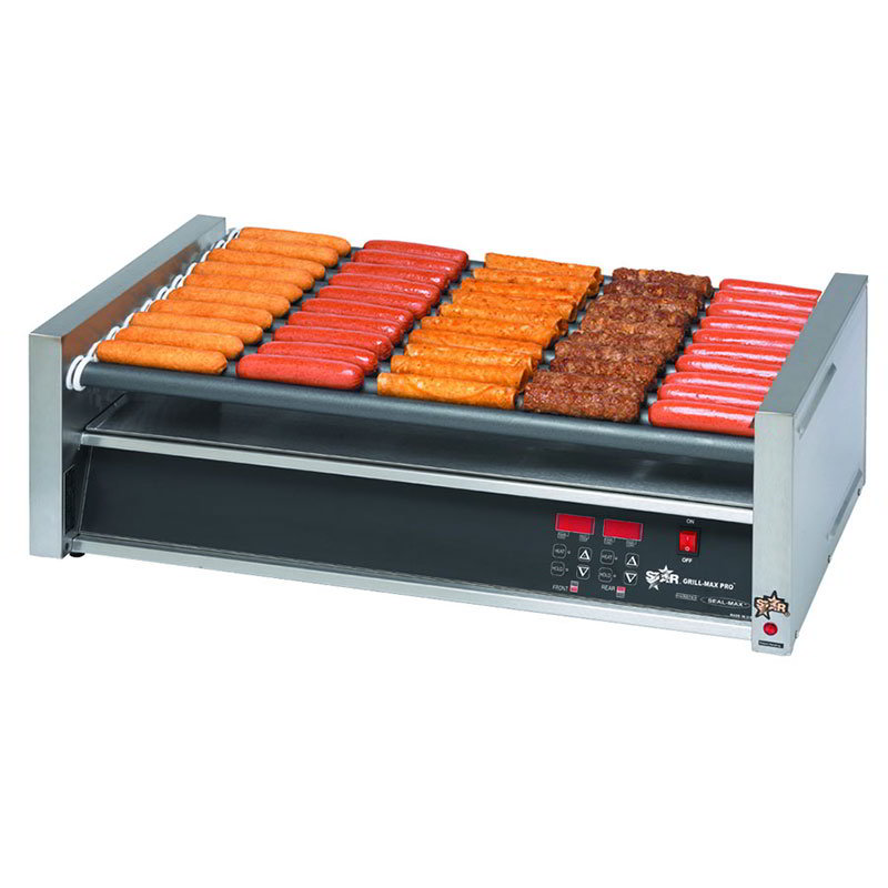 Star 50SCF 50 Hot Dog Roller Grill - Flat Top, 120v
