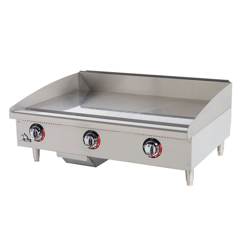 "Star 536TGF 36"" Electric Griddle - Thermostatic, 1"" Steel Plate, 208v/1ph"