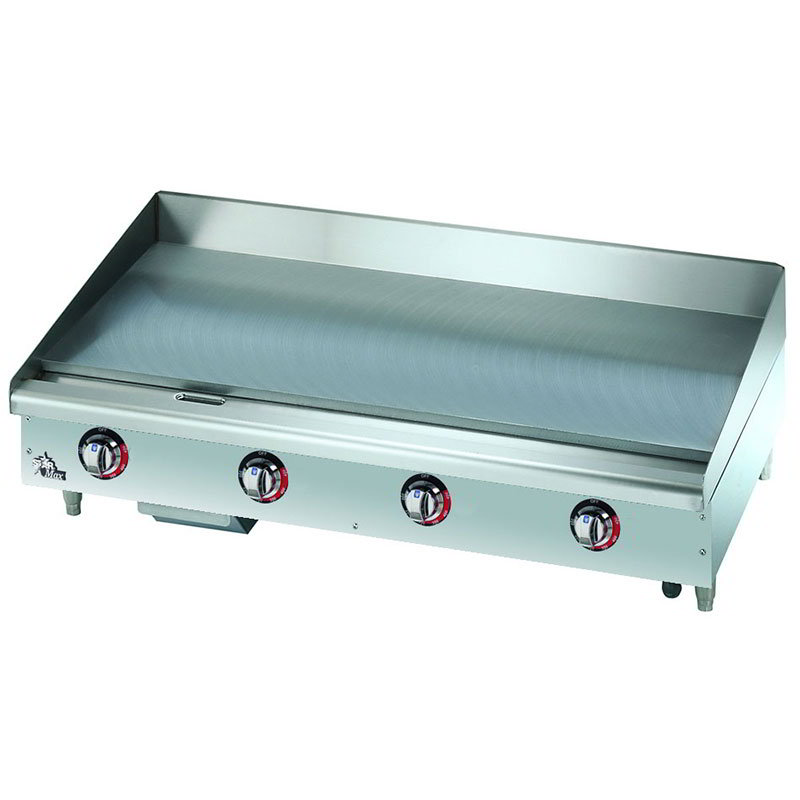 Star 548TGF 48-in Griddle w/ 1-in Steel Plate, Thermostat Controls, 208/1