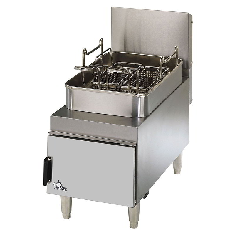 Star 615FF Countertop Gas Fryer - (1) 15-lb Vat, NG