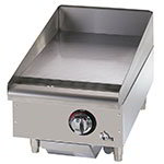 "Star 615MF 15"" Gas Griddle - Manual, 1"" Steel Plate"