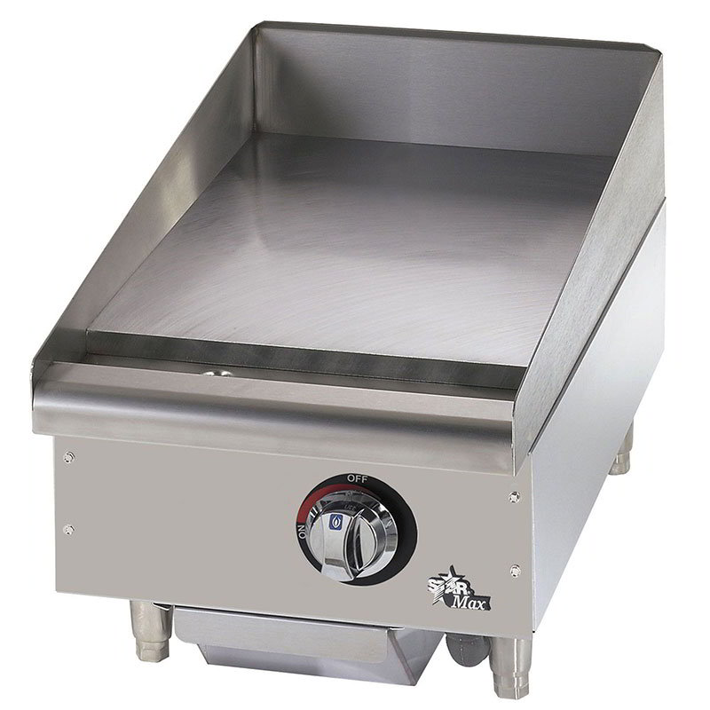 "Star 615MF 15"" Gas Griddle - Manual, 1"" Steel Plate, NG"