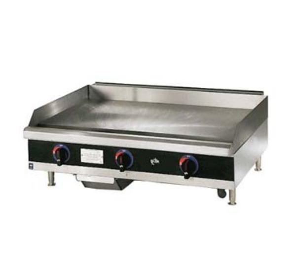 Star Manufacturing 624MD Griddle, Gas, 24-in,  w/ .75-in Steel Plate & Manual Controls