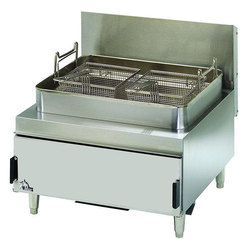 Star 630FF Countertop Gas Fryer - (1) 30-lb Vat, Twin Baskets, LP