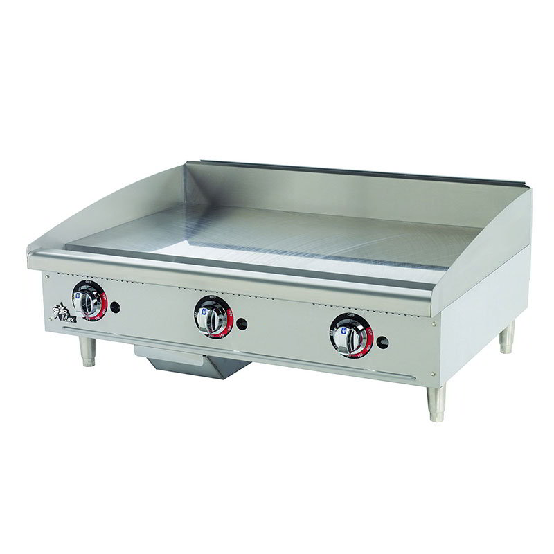 "Star 636MF 36"" Gas Griddle - 1"" Steel Plate, Manual Controls"
