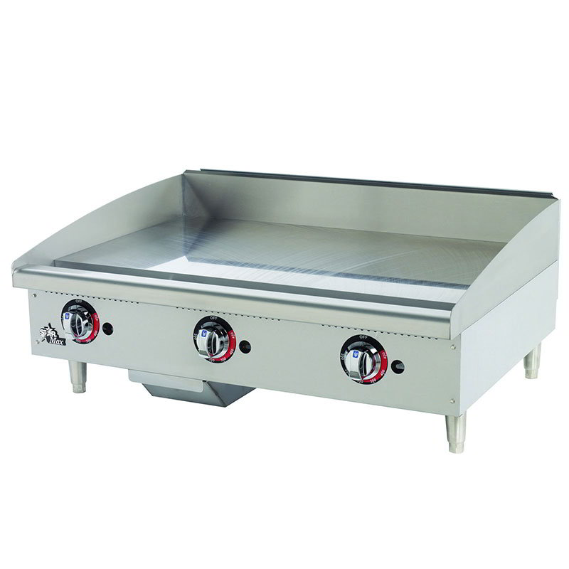"Star 636TSPF 36"" Gas Griddle - Thermostatic, 1"" Steel Plate, NG"