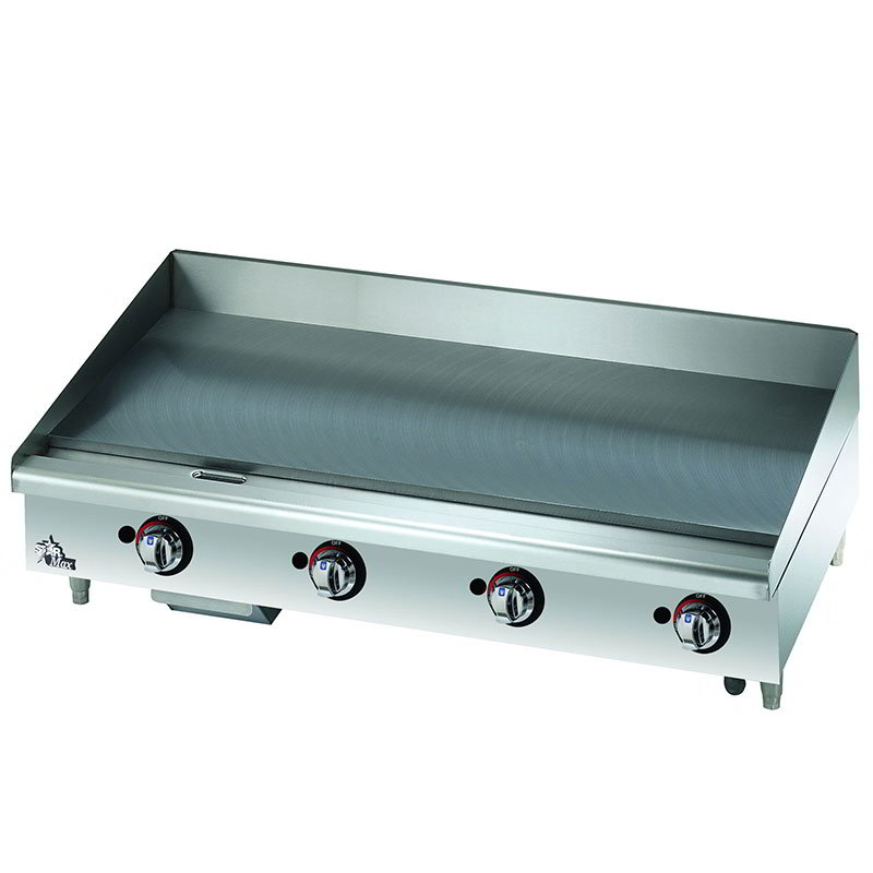 "Star 648MF 48"" Gas Griddle - Manual, 1"" Steel Plate, NG"