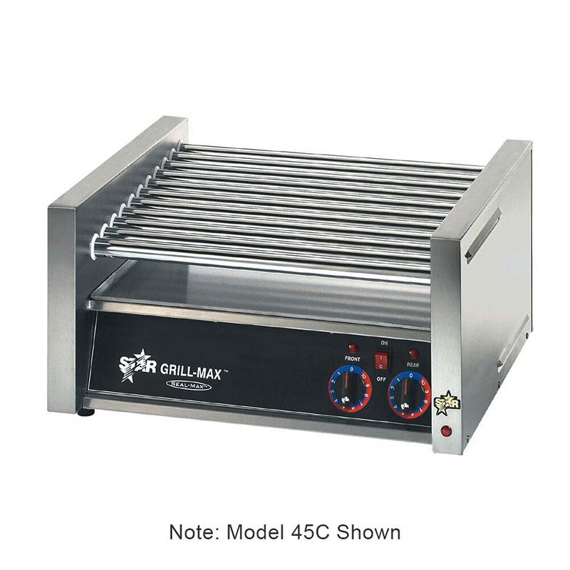 Star 75C240 75 Hot Dog Roller Grill - Slanted Top, 240v