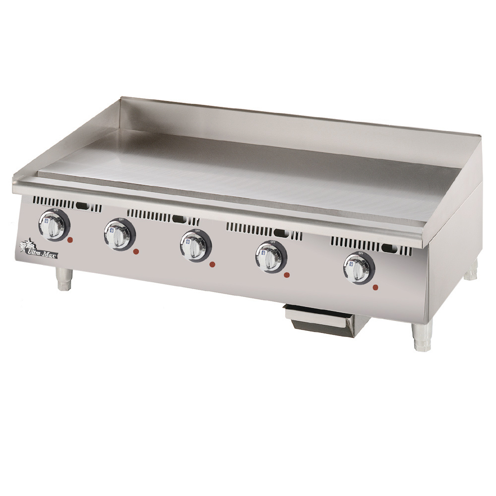 "Star 772TCHSA 72"" Electric Griddle - Thermostatic, 1"" Chrome Plate, 208v/1ph"