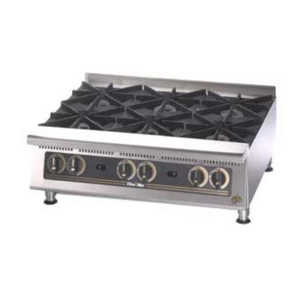 Star 802H Ultra-Max Hotplate Gas 12 in 2 Burner Manual Controls Restaurant Supply