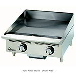 "Star 824TSCHSA 24"" Griddle - 1"" Chrome Plate & Snap Action Thermostat, NG"