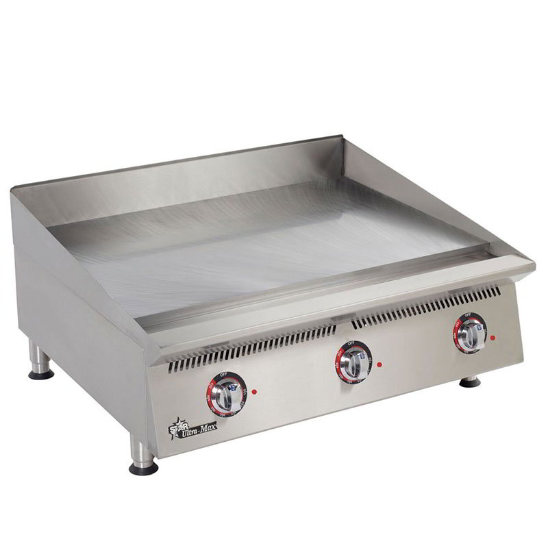"Star 836TA 36"" Gas Griddle - Thermostatic, 1"" Steel Plate, NG"