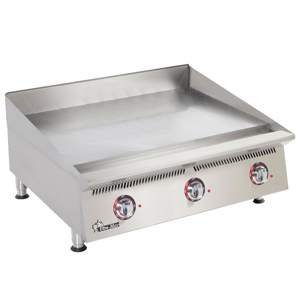 """Star 836TCHSA 36"""" Gas Griddle - Thermostatic, 1"""" Chrome Plate, NG"""