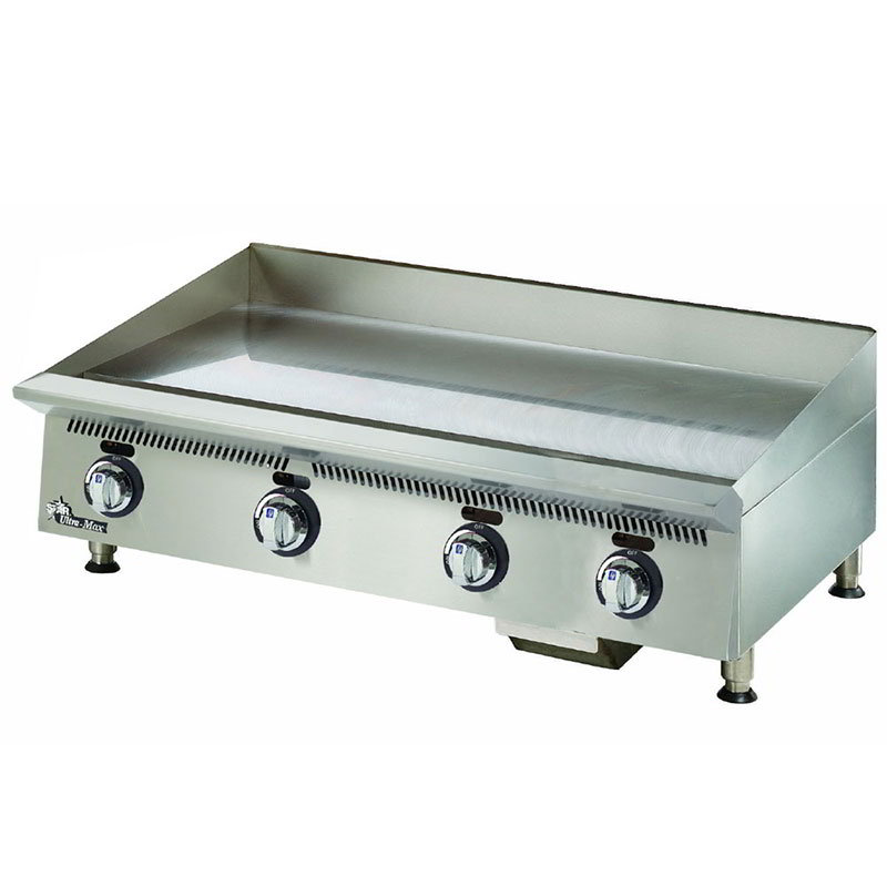 "Star 848MA 48"" Gas Griddle - Manual, 1"" Steel Plate, NG"