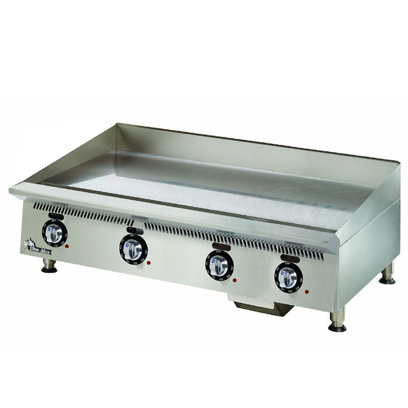 "Star 848TA 48"" Gas Griddle - Thermostatic, 1"" Steel Plate, NG"