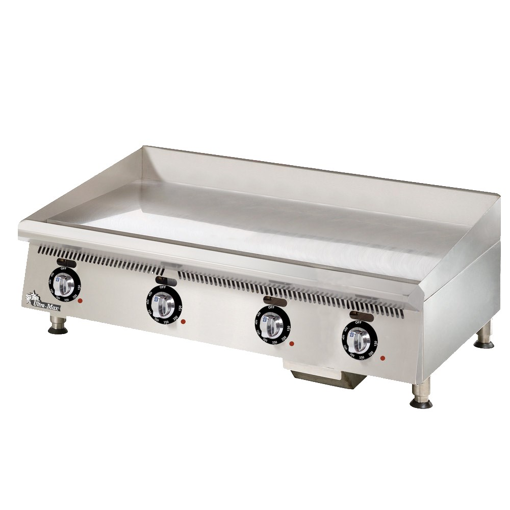 "Star 848TCHSA 48"" Gas Griddle - Thermostatic, 1"" Chrome Plate, NG"