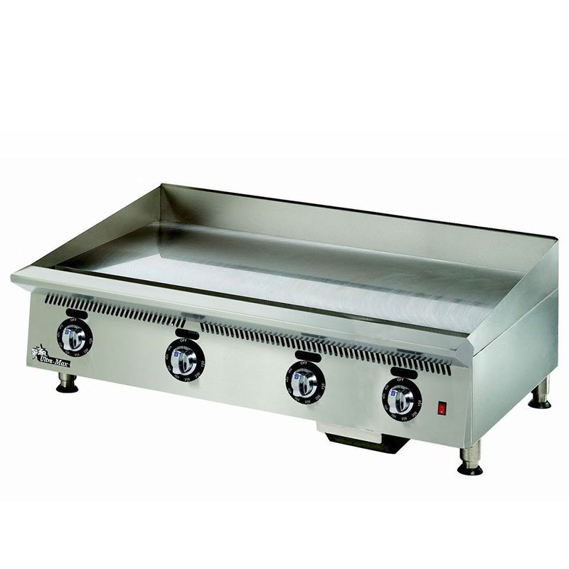 "Star 848TSA 48"" Griddle - 1"" Steel Plate & Snap Action Thermostat, NG"