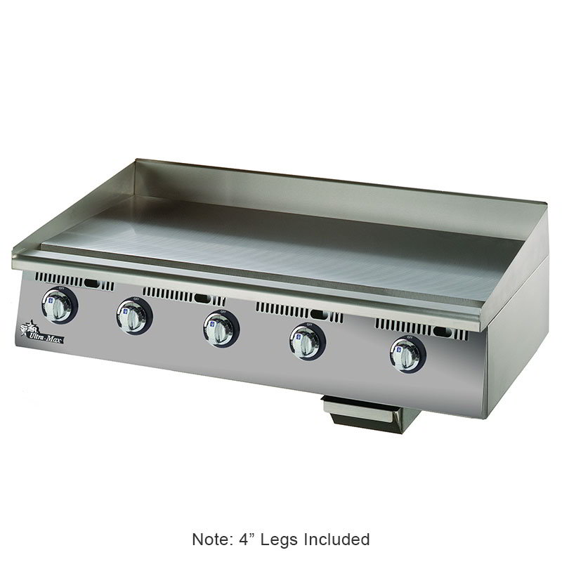 "Star 860TA 60"" Gas Griddle - Thermostatic, 1"" Steel Plate, NG"