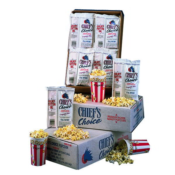 Star CC286OZ 6-oz Portion Pack Popcorn