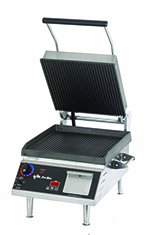 Star Manufacturing CG14IE Panini Grill w/ Grooved 14 x 14-in Iron Plates & Timer, 208/240 V