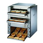 "Star DT14208 Conveyor Toaster, (2) 14"" Belts, 1000 Slices/Hour, 208 V"