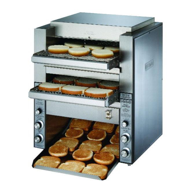 """Star DT14208 Conveyor Toaster, (2) 14"""" Belts, 1000 Slices/Hour, 208 V"""
