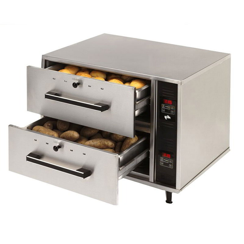 Star DWN2 Warming Drawer, 2 Drawers, Narrow, 120v