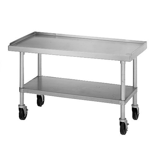 Star ESUM48S Equipment Stand, 48 x 30 x 24-in, w/ Bottom Shelf, Stainless