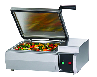 Star Manufacturing FS1R Fast Steamer, Self-Contained, Manual, 1/2 Size Pan