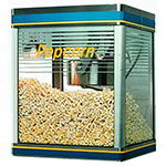 Star G12Y Galaxy Popper 12-oz Popcorn Machine, (240) 1-oz Servings, 120V
