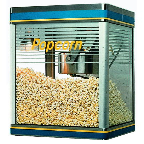 Star G14Y Galaxy Popper 14-oz Popcorn Machine, (280) 1-oz Servings, 120V