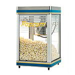 Star G18Y Galaxy Popper 18-oz Popcorn Machine, Infrared Heat Lamp, 240/1V