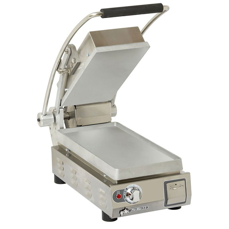 Star PST7 2-Sided Pro-Max Grill, 10 x 10-in, Hinged Upper, 120 V